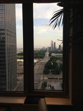 Fairmont Chicago Millennium Park: View from Concierge Lounge