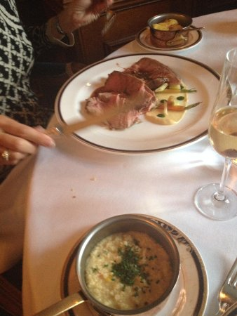 George V Dining Room: The Lamb