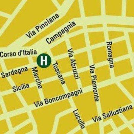 Hotel Victoria: Map