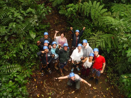 Blue River Resort & Hot Springs : Zip-lining Crew