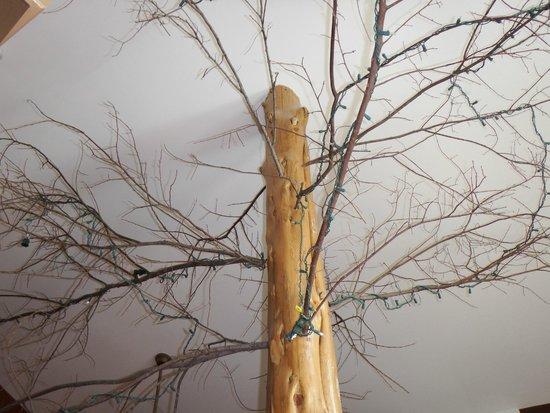 Eureka Springs Treehouses: Center of room