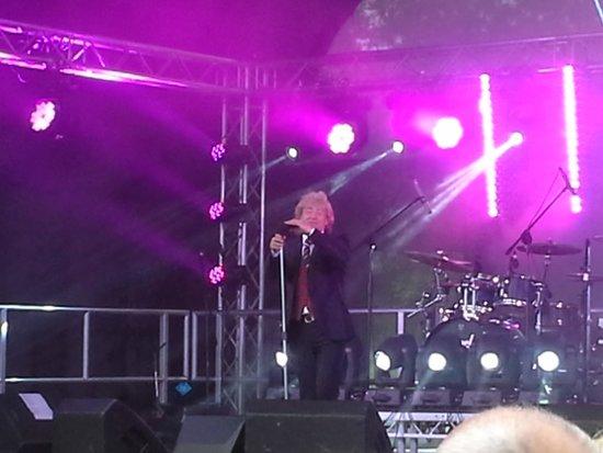 Arley Hall & Gardens: Rock Stewart in action