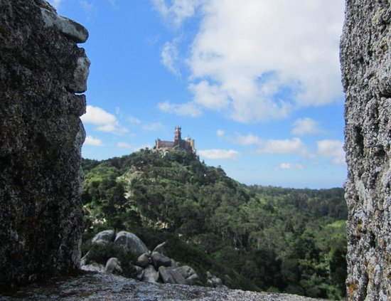 Castle of the Moors : View of Pena