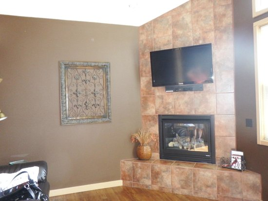 Eureka Springs Treehouses: Living room area