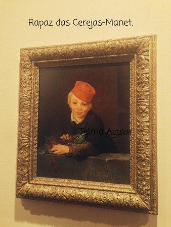 Musée Calouste-Gulbenkian : Rapaz das Cerejas-Manet