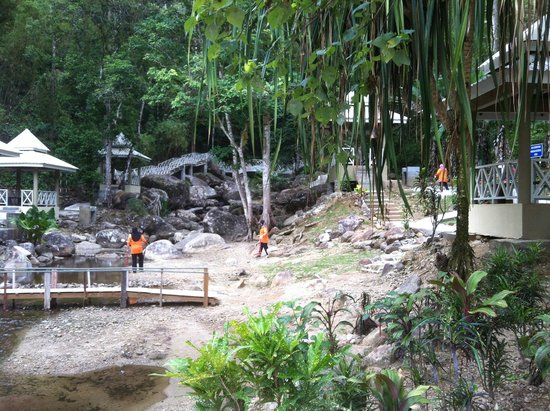 Telaga Tujuh Waterfalls: A nice little development
