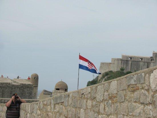 Old Town: Croatian Flag