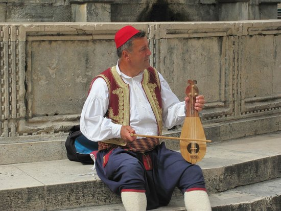 Old Town: Croatian Lute Player