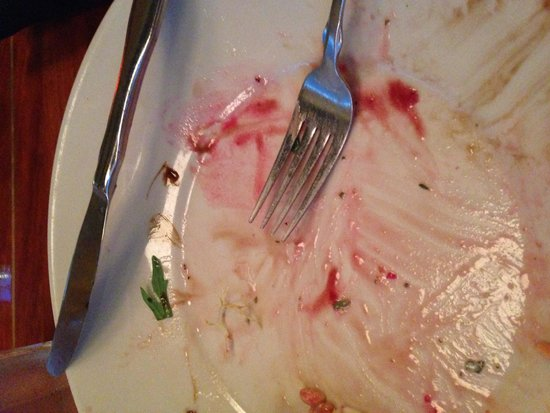 Sweetwaters : The remains of my beet salad.