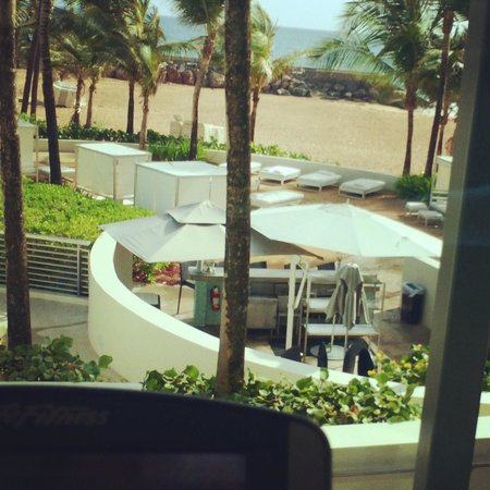 La Concha Renaissance San Juan Resort: View from the gym