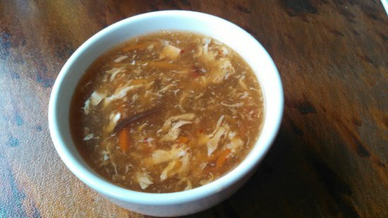 Ryce Asian Bistro: Hot and sour soup
