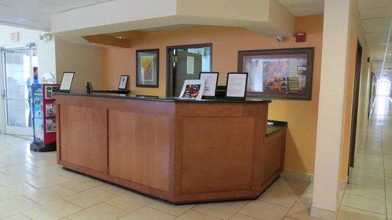The Floridian Hotel and Suites: Recepção