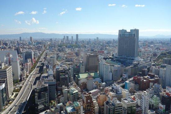 Hotel Monterey Grasmere Osaka: 房間外的日景
