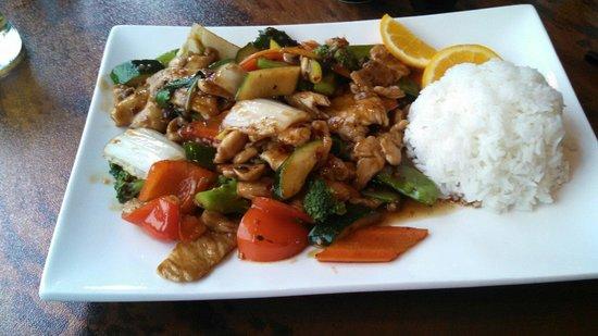 Ryce Asian Bistro: Orange Chicken