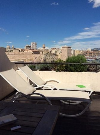 Sofitel Marseille Vieux-Port : la terrasse