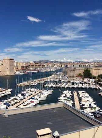 Sofitel Marseille Vieux-Port : la vue