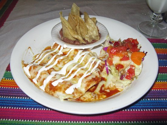 Patty's Bistro: Patty's chicken enchiladas