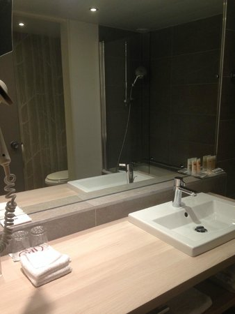Pullman Paris Montparnasse: bathroom