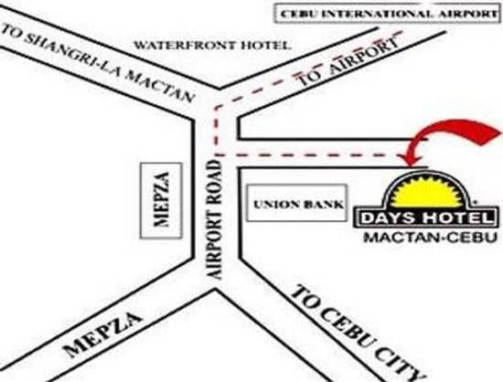 Days Hotel Cebu Airport: Area Map