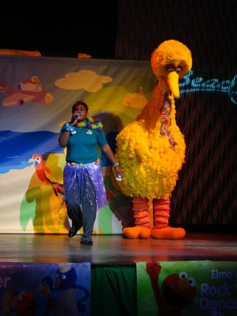 Beaches Negril Resort & Spa: Sesame St. Show