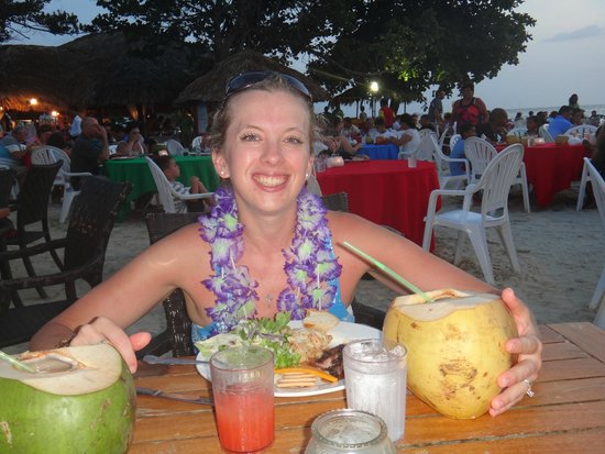 Beaches Negril Resort & Spa: Can't beat fresh coconuts!