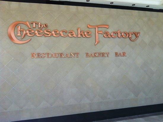 The Cheesecake Factory: Vista do restaurante