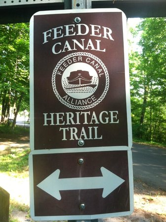 Feeder Canal Trail: At Haviland Cove Beach