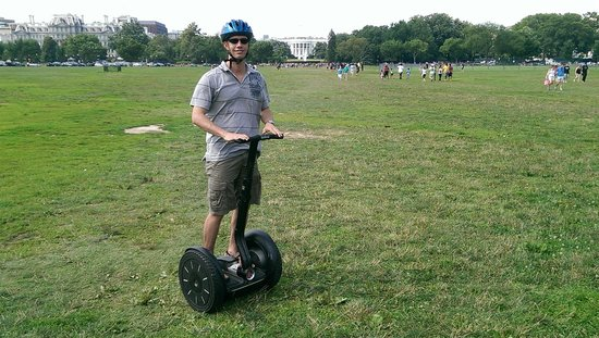 Private DC Segway Tours: Cross country