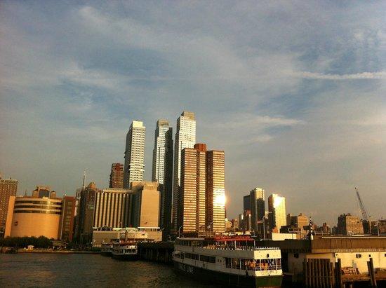 Manhattan Skyline: FIm de tarde...