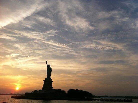 Manhattan Skyline: Entardecer...