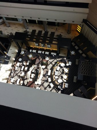 Hyatt Regency New Orleans : Hotel restaurant Block 8 or 8 Block something like that lol. There many others in the hotel as w