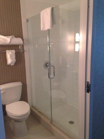Hotel Zero Degrees: Shower