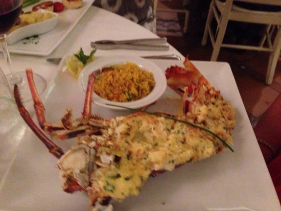 Bistrot Caraibes: Lobster Thermidor. July 11, 2014