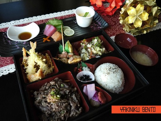 yakiniku bento bild fr n sushi maru abu dhabi tripadvisor. Black Bedroom Furniture Sets. Home Design Ideas