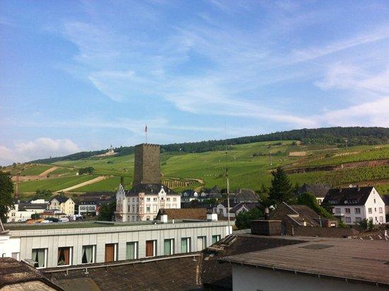 Carathotel Rheingau: Vista do apartamento