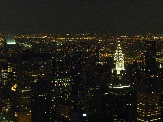 Chrysler Building : Vista do Empire State.