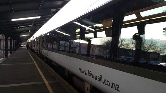 TranzAlpine Train: Christchurch departure
