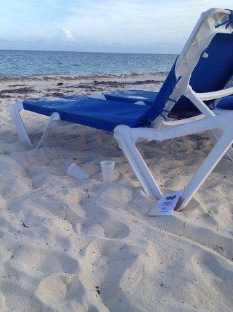 Viva Wyndham Fortuna Beach: bicchieri ovunque