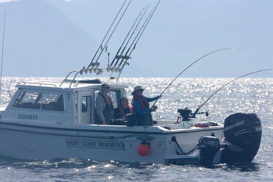 The Lodge at Hippa Island (Westcoast Resorts): Christina-fish on