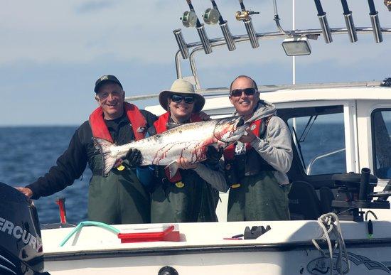 The Lodge at Hippa Island (Westcoast Resorts): Christina-fish landed