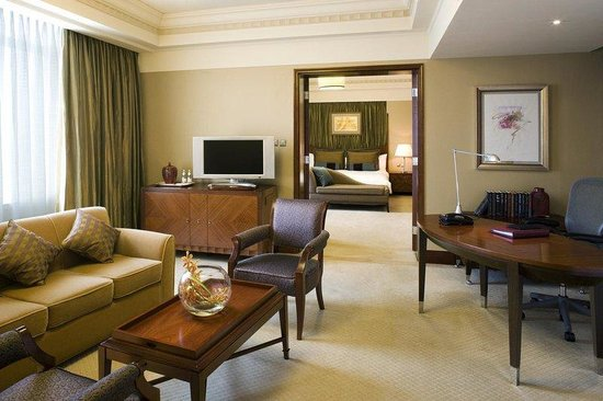 The Hongta Hotel, A Luxury Collection Hotel, Shanghai : Living Room Of Mandarin Suite