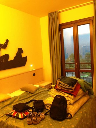 Hotel Fioroni : Good sized room with everything you needed