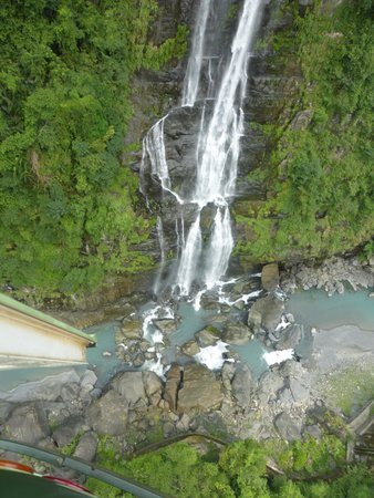 Wulai Falls: view from gondola