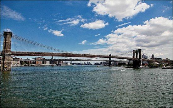 South Street Seaport: View on Brooklyn Bridge !!!