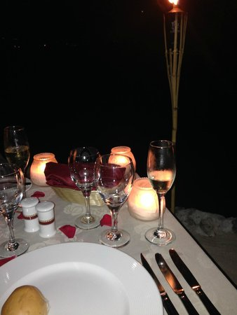Secrets Wild Orchid Montego Bay: Private Dinner on the Beach
