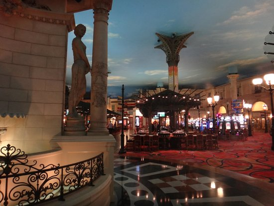 Paris Las Vegas: Casino area.