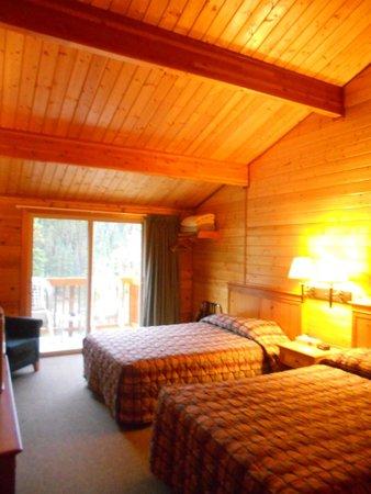 Denali Grizzly Bear Resort: Room