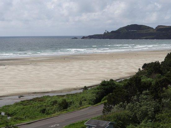 Best Western Agate Beach Inn : Beautiful beach