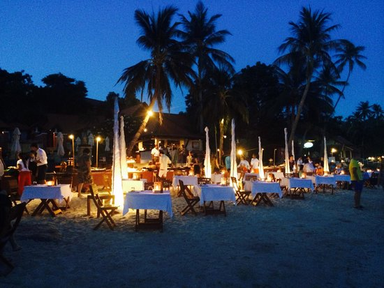 Renaissance Koh Samui Resort & Spa : Beach BBQ