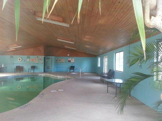 Little Vineyard RV Park: Indoor pool and spa